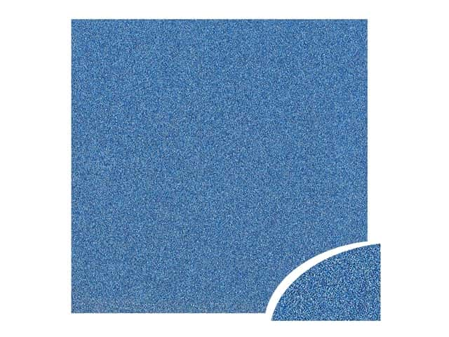 Paper Accents Glitter Cardstock 22 x 28 in. #G07 Jewel Blue 10 pc.