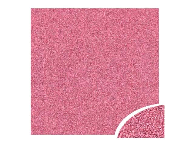 Paper Accents Glitter Cardstock 22 x 28 in. Pink 10 pc.