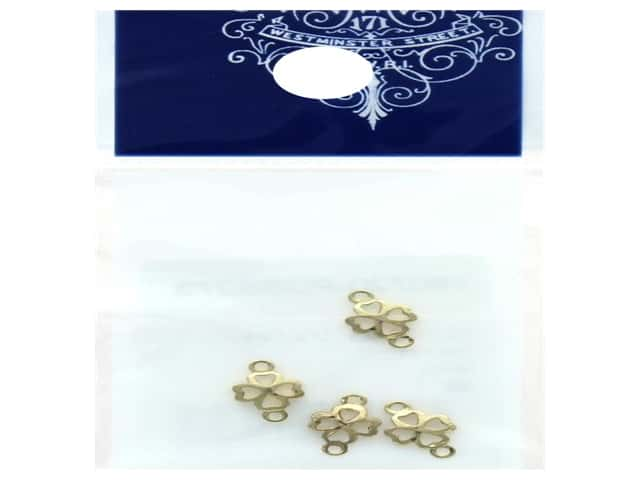 Resinate Link Part Clover Gold 4pc