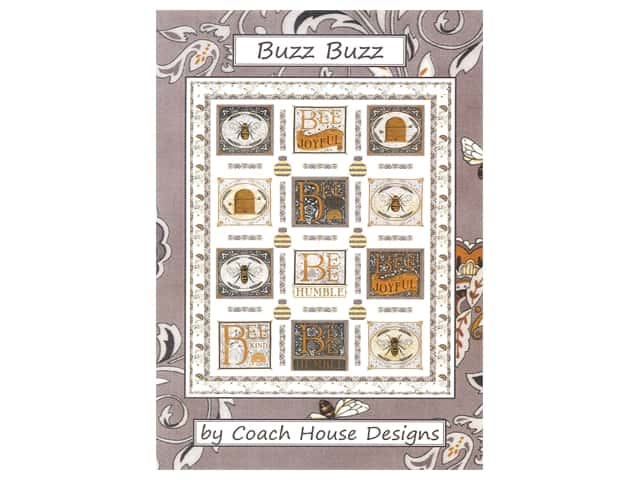 Coach House Designs Buzz Buzz Pattern