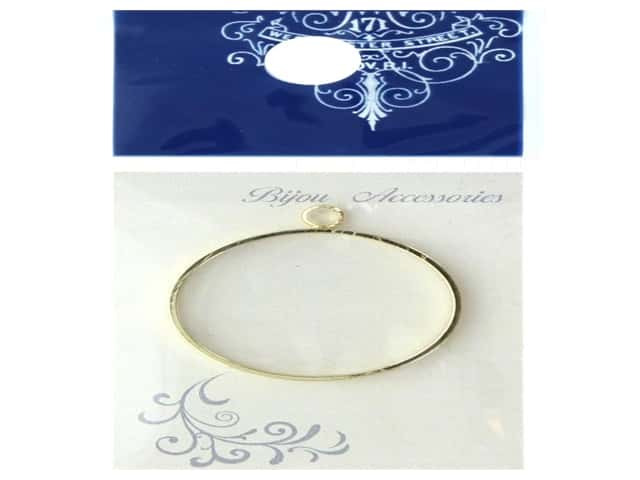 Resinate Charm Frame Round Large Gold