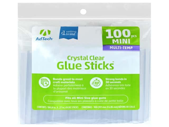 AdTech Multi-Temp Mini-Size Glue Sticks 4 in. 100 pc.