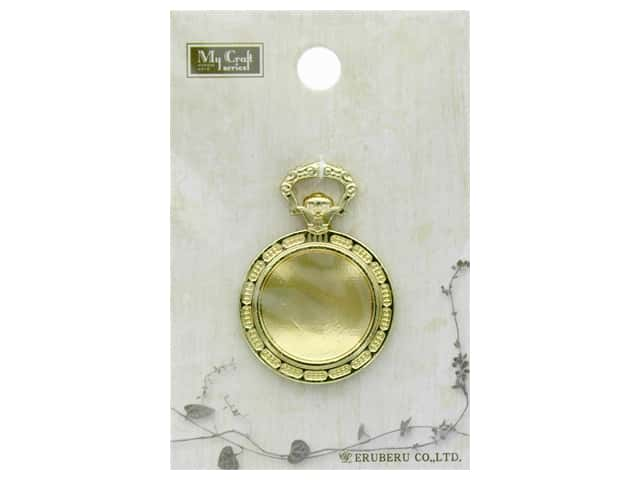 Resinate Charm Pocket Watch Gold