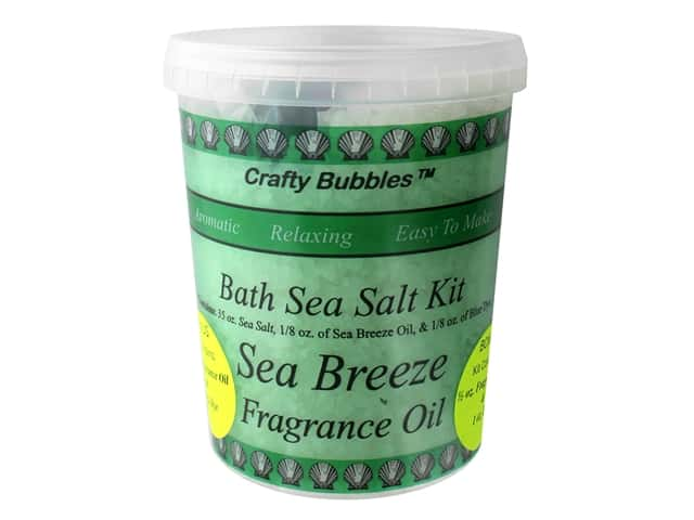 Crafty Bubbles Bath Sea Salt Kit Sea Breeze