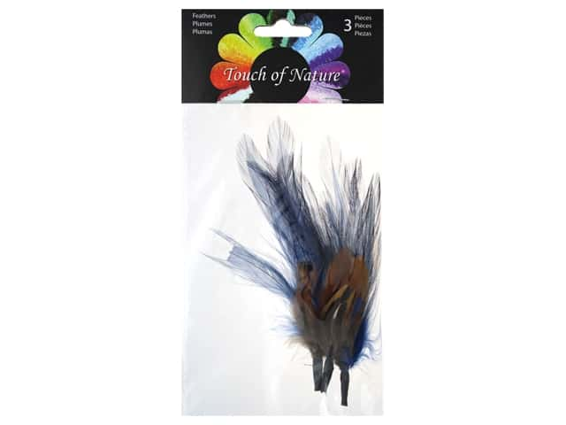 Midwest Design Feather Pick 4 in. Pheasant Ringneck 3 pc