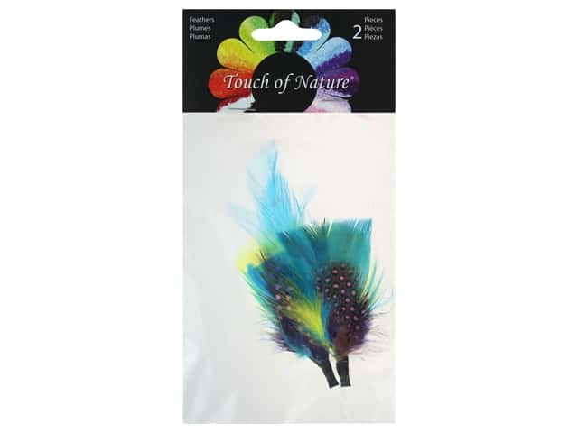 Midwest Design Feather Pick 5-6 in. Assorted Brights 2 pc
