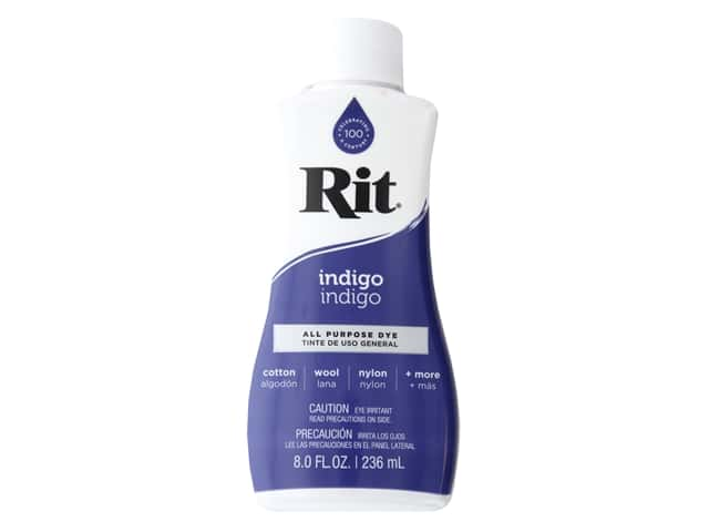Rit Dye Liquid 8 fluid oz Indigo