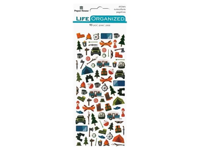 Paper House Collection Life Organized Sticker Micro Outdoors