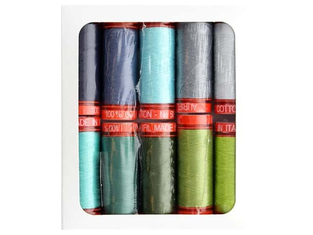 Aurifil Tula Pink Moonshine Meadow Thread Collection 10 pc.