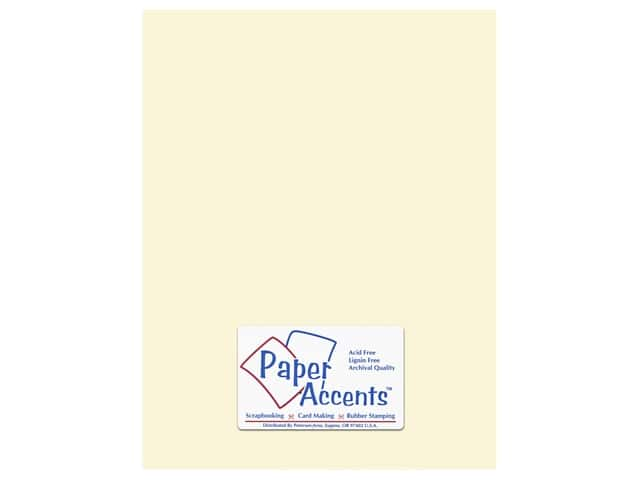 Paper Accents Cardstock 8 1/2 x 11 in. #119 Smooth Cream 250 pc.