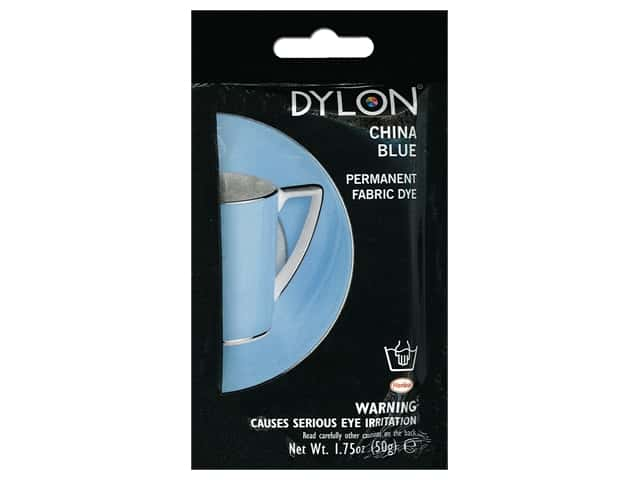 Dylon Permanent Fabric Dye 1.75 oz. Light Blue