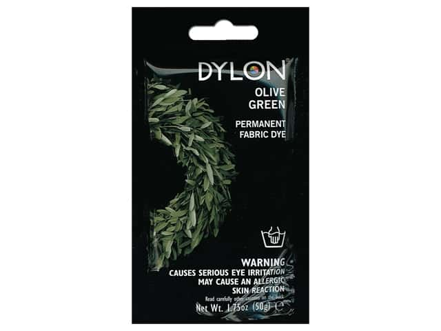 Dylon Permanent Fabric Dye 1.75 oz. Olive Green