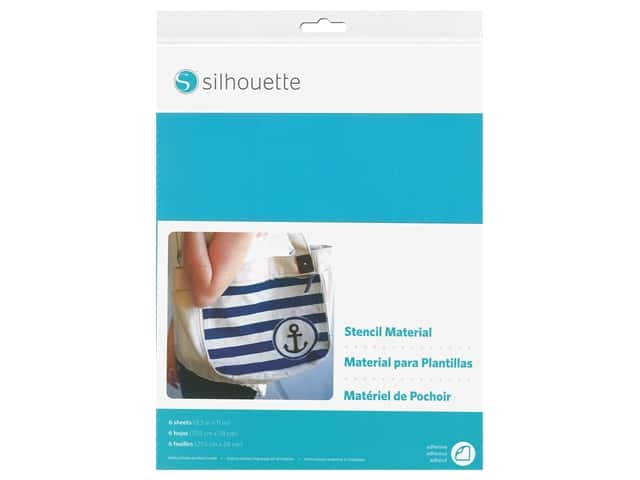 Silhouette Stencil Sheets 12 x 12 in.