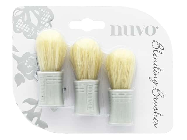 Nuvo Blending Brushes 3 pc