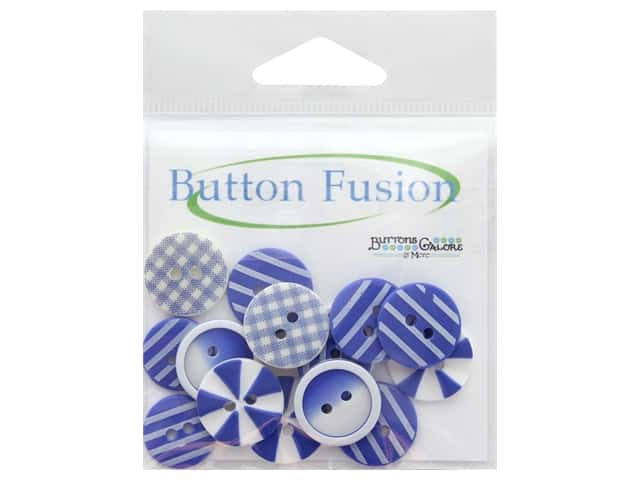 Buttons Galore Button Fusion 20 pc. House Of Blues
