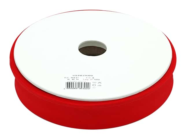 Stephanoise Poly/Cotton Bias Tape 27 mm Red