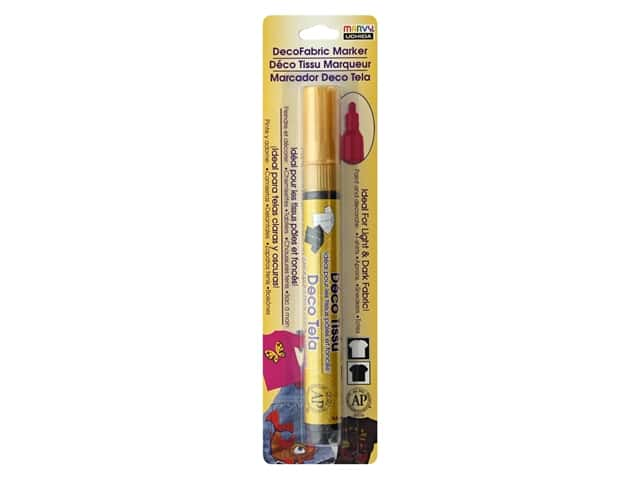 Uchida DecoFabric Paint Marker Gold