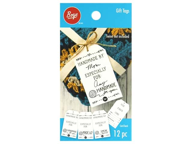 Boye Yarn Gift Tags Sweet 12 pc