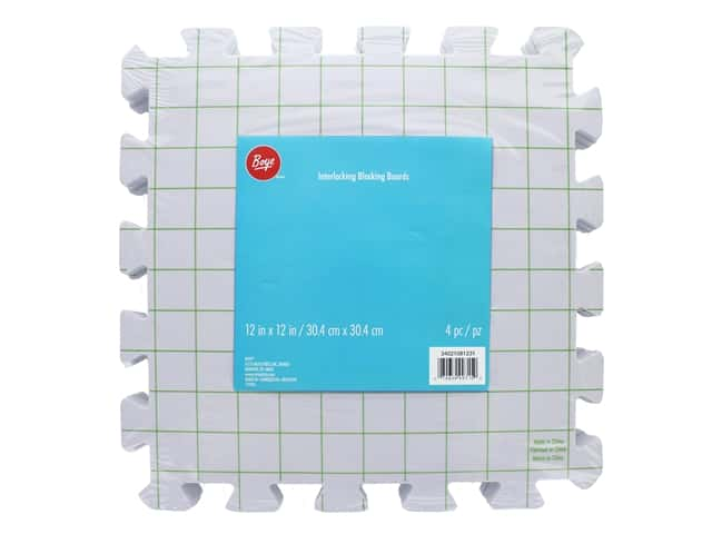 Boye Yarn Interlocking Block Board 4 pc