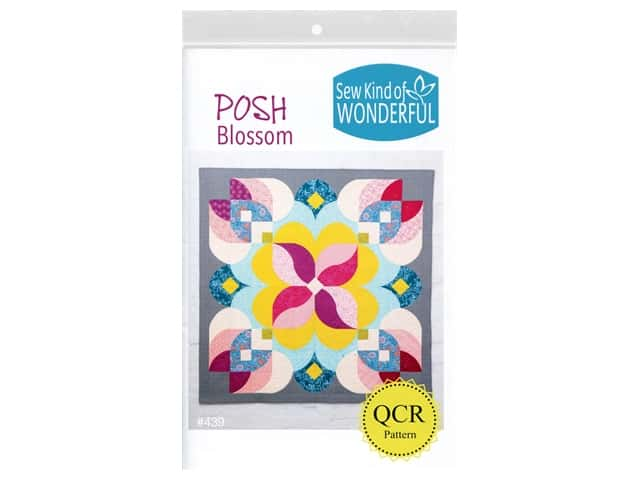 Sew Kind Of Wonderful QCR Posh Blossom Pattern