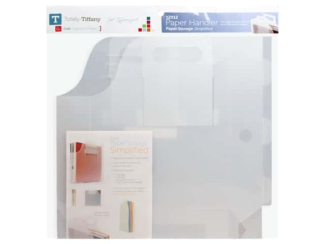 Totally Tiffany 12 x 12 in. Paper Handler