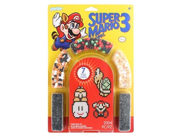 Perler Fused Bead Kit Super Mario 3 2004 pc