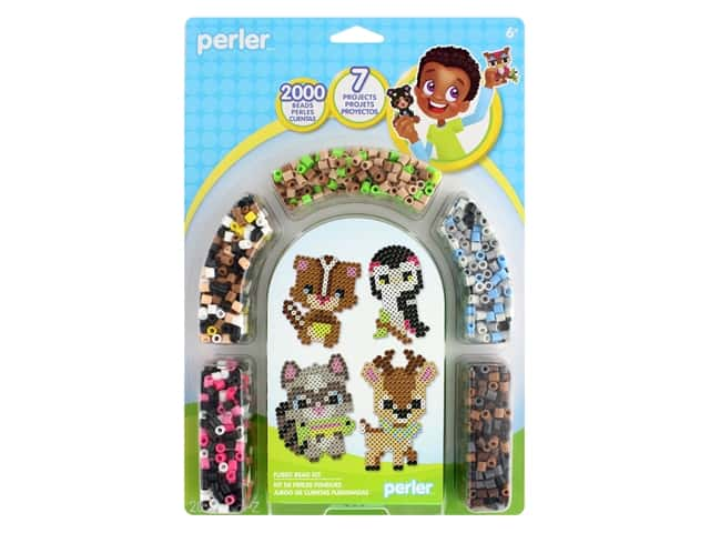 Perler Fused Bead Kit Nature Trail 2003 pc