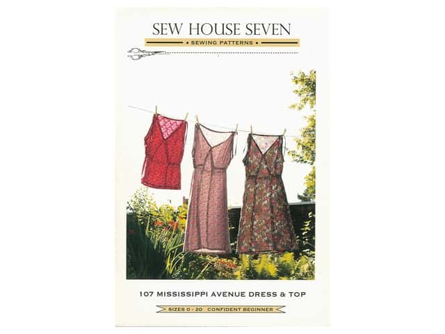 Sew House Seven Mississippi Avenue Dress & Top Pattern
