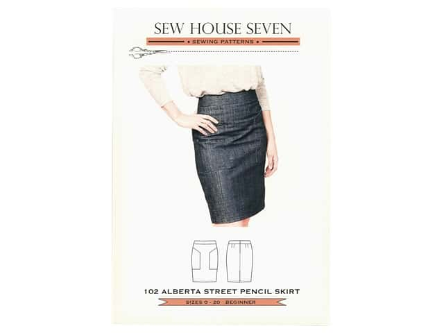 Sew House Seven Alberta Street Pencil Skirt Pattern