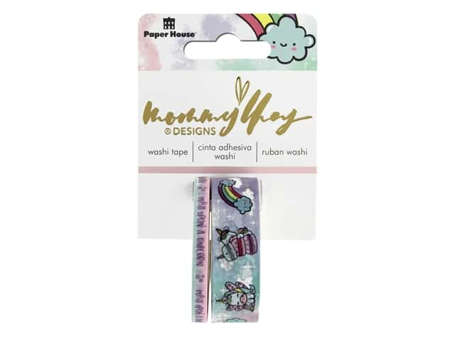 Paper House Washi Tape Mommy Lhey Blossom The Unicorn