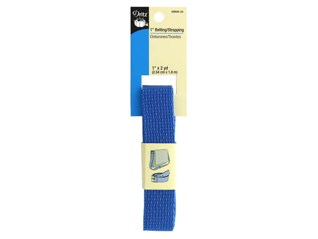 Dritz Polypropylene Belting/Strapping 1 in. x 2 yd. Royal Blue