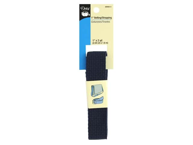 Dritz Polypropylene Belting/Strapping 1 in. x 2 yd. Navy