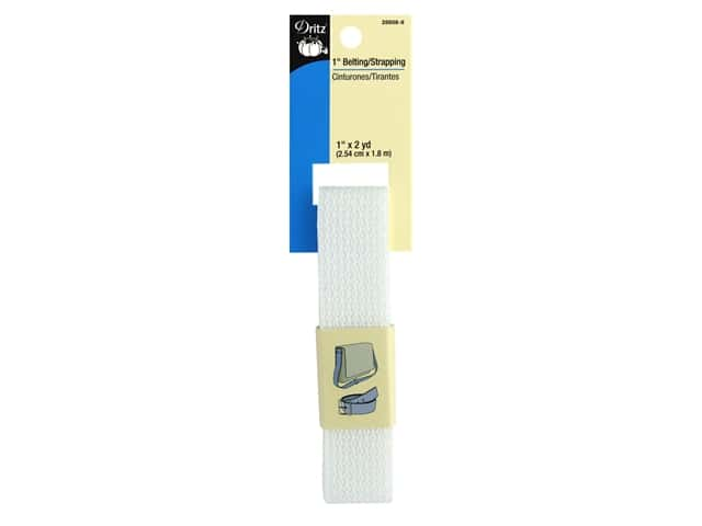 Dritz Polypropylene Belting/Strapping 1 in. x 2 yd. White