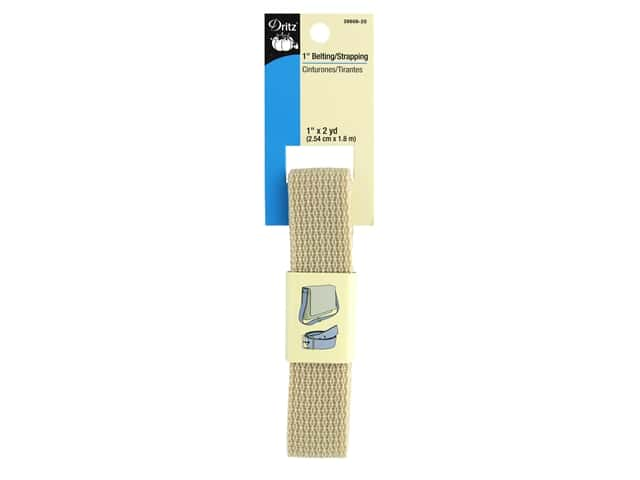 Dritz Polypropylene Belting/Strapping 1 in. x 2 yd. Natural