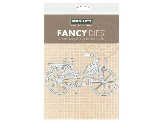 Hero Arts Die Fancy Bicycle With Basket