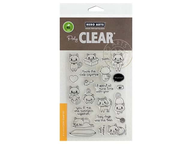Hero Arts Poly Clear Stamp Purr