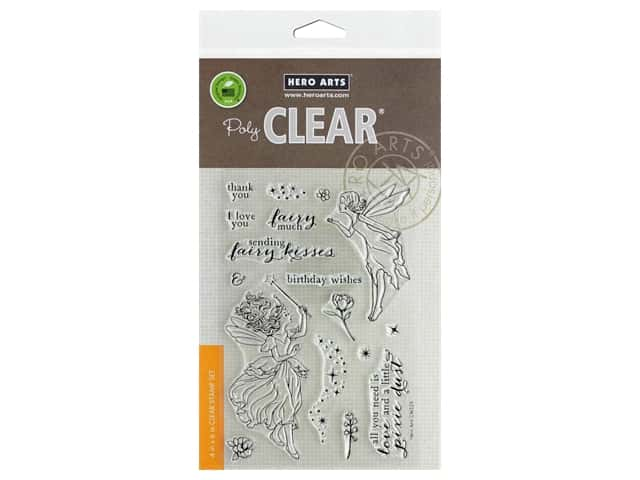 Hero Arts Poly Clear Stamp Fairy Kisses