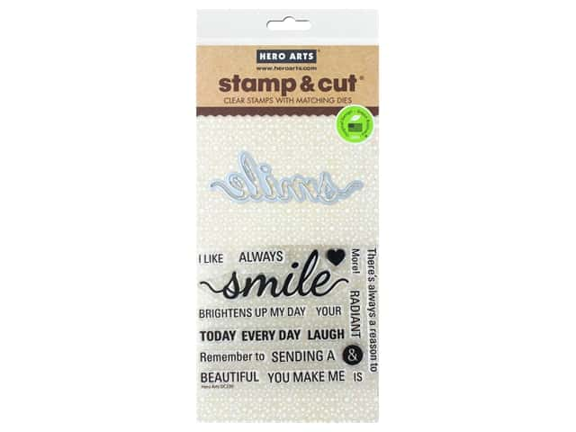 Hero Arts Stamp & Cuts Smile