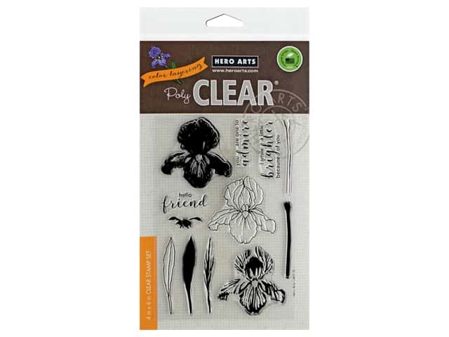 Hero Arts Poly Clear Stamp Color Layering Iris