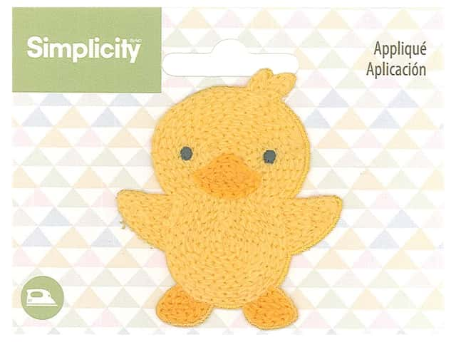 Simplicity Applique Iron On Chick