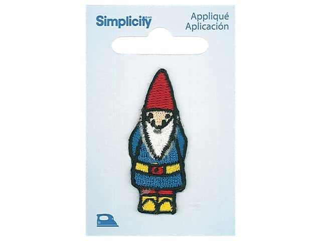 Simplicity Applique Iron On Gnome