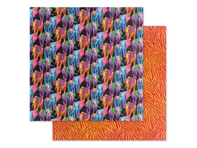 Graphic 45 Collection Kaleidoscope Paper 12 in. x 12 in. Dare to be Different