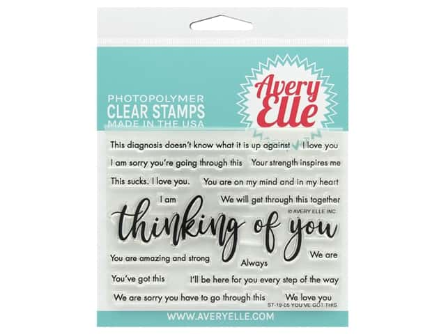 Avery Elle Clear Stamp You've Got This