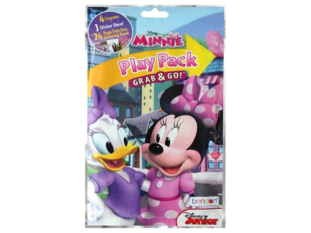 Bendon Coloring Play Pack Disney Minnie Book