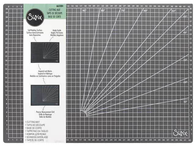 Sizzix Cutting Mat 16 1/2  x 11 1/2 in.