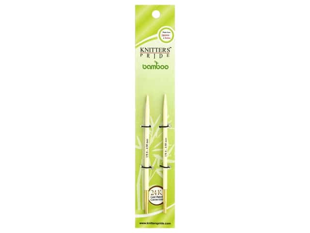 Knitter's Pride Bamboo Interchangeable Circular Needles Size 6