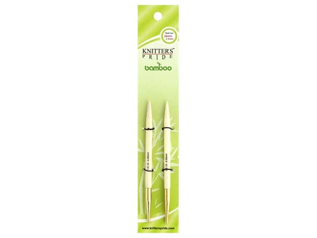 Knitter's Pride Bamboo Interchangeable Circular Needles Size 10