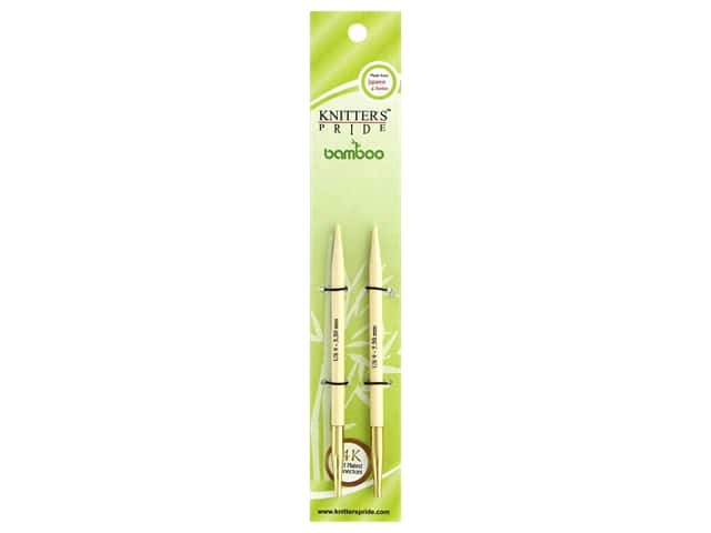 Knitter's Pride Bamboo Interchangeable Circular Needles Size 9