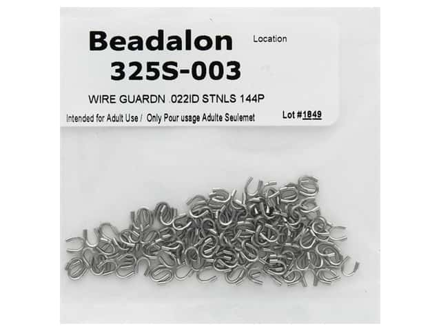 Beadalon Wire Guardian .022 in. Stainless Steel 144 pc