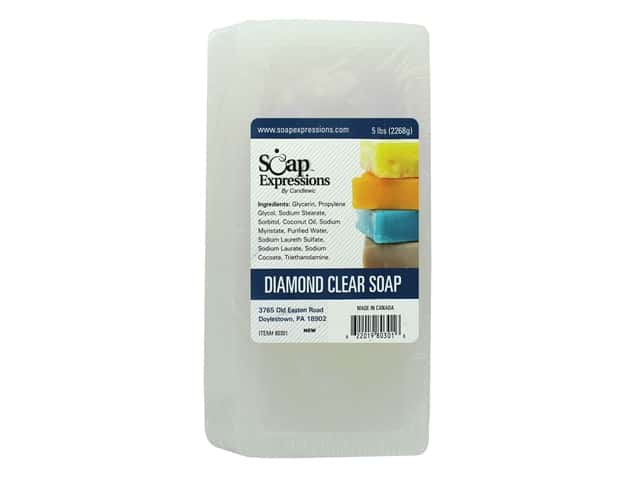 Soap Expressions Diamond Clear Soap 5 lb